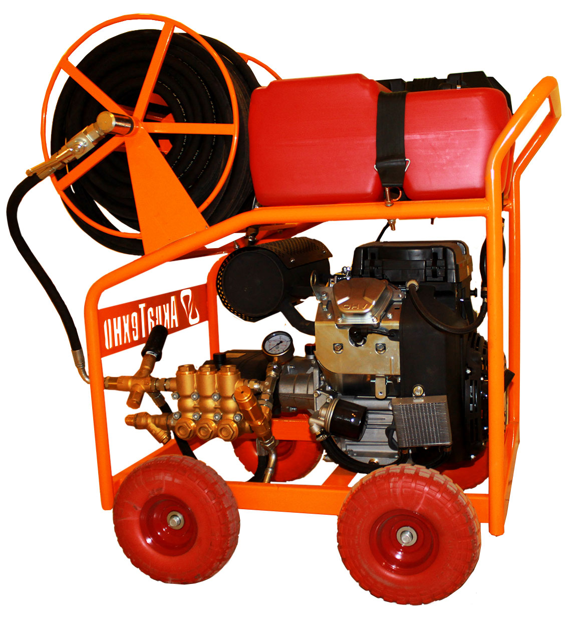 Оборудование (АВД) для промывки и прочистки канализации и других труб