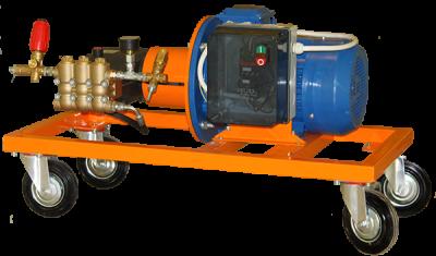 Оборудование (АВД) для мойки транспорта и самоходных машин