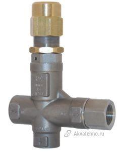 Клапан предохранительный VS 26 - Aisi 316 VITON вход 1/2 г, 80 л/мин 310 бар нерж. сталь