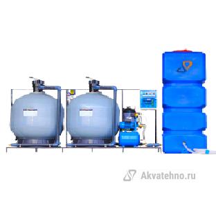 Система очистки воды АРОС 10 2К+К