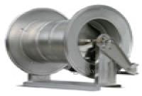 R+M 76356430, Барабан инерционный R+M 564, 300bar, вместимость шланга 22mm(D внеш) до 60m, 1/2внут-1/2внут, нерж.сталь