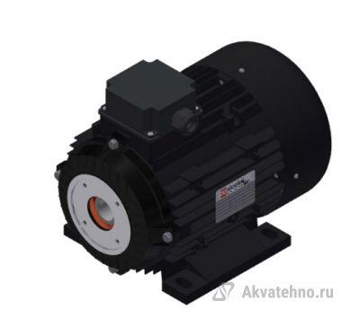 Электродвигатель 4 кВт полый вал 24 мм 230/400 В - 50 Гц, 100 T4 B3 BS AC