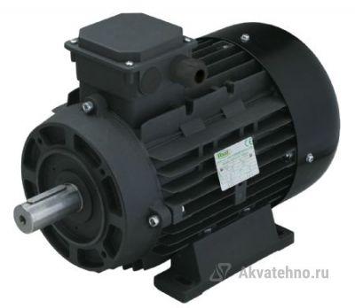 Двигатель 15 кВт H160M вал d42мм с напольной установкой