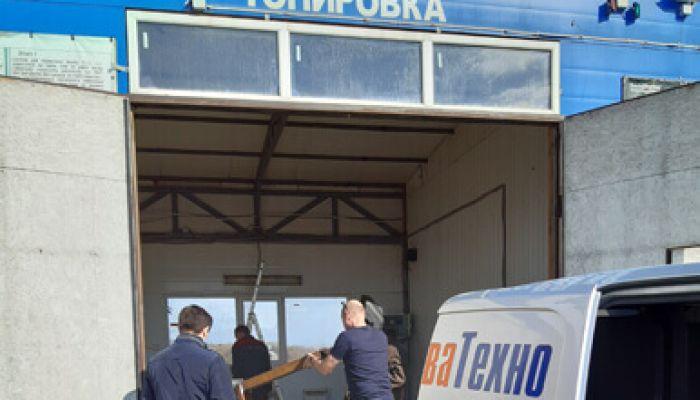 Монтаж автомойки в Москве (улица Никулинская)