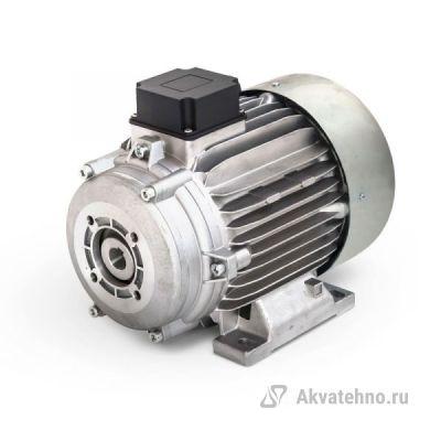 Электродвигатель 5,5 кВт полый вал 24 мм 230/400 В - 50 Гц, 112 с эластичной муфтой