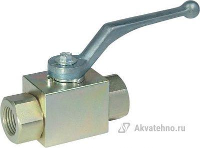 """Кран гидравлический двухходовой 1/2""""г-1/2""""г (арт. 402.1113AD)"""