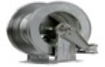 R+M 76343430, Барабан инерционный R+M 434, 300bar, шланг 14-21m, 1/2внут-1/2внут, нерж.сталь