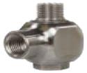 R+M 200322520, Поворотная муфта ST-322 для консоли 300bar, 90°C, 1/2внут-1/2внеш