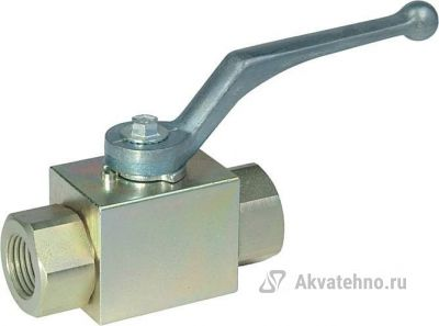 """Кран гидравлический двухходовой 3/8""""г-3/8""""г (арт. 402.1112AC)"""