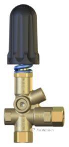 Регулировочный клапан Pulsar 4R, 310 бар, 40 л/мин с выходом под манометр (60.0016.60)