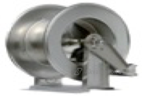 R+M 76354430, Барабан инерционный R+M 544, 300bar, вместимость шланга 22mm(D внеш) до 30m, 1/2внут-1/2внут, нерж.сталь
