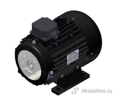 Электродвигатель 5,5 кВт полый вал 24 мм 230/400 В - 50 Гц, 112 T4 B3 BS AC 24