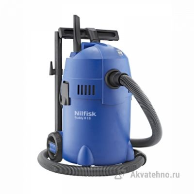 BUDDY II 12 Пылеводосос(бытовой) 200Мбар/ 3600л/мин/ бак 12л/ 1200Вт/ 220В