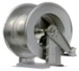 R+M 76353430, Барабан инерционный R+M 534, 300bar, шланг 24-28m, 1/2внут-1/2внут, нерж.сталь