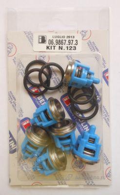 Ремкомплект клапанов помпы TML 1520 Bertolini KIT 123 (арт. 06.9867.97.3)